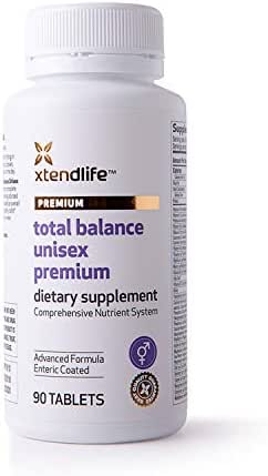 Xtend-Life Total Balance Unisex Premium Multivitamin, Daily Comprehensive Supplement, Men and Women, Anti Aging, 90 Tablets
