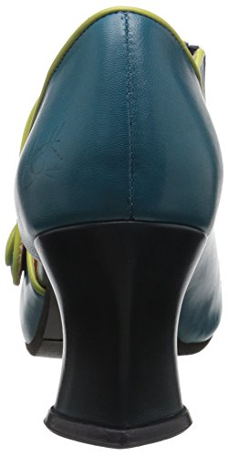 Fluevog John Dress Women's Pump Teal Allure Green 8wdqw67