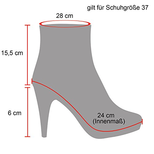 Keilabsatz schuhe 5 cm
