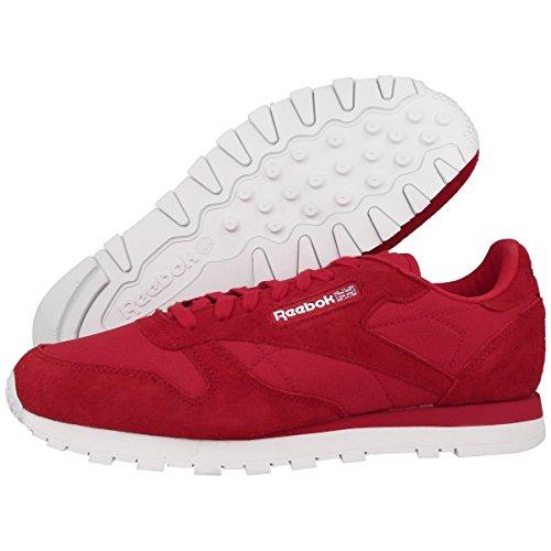 Reebok Herren Classic Leather Cordura Schuhe rush-white (M46741)