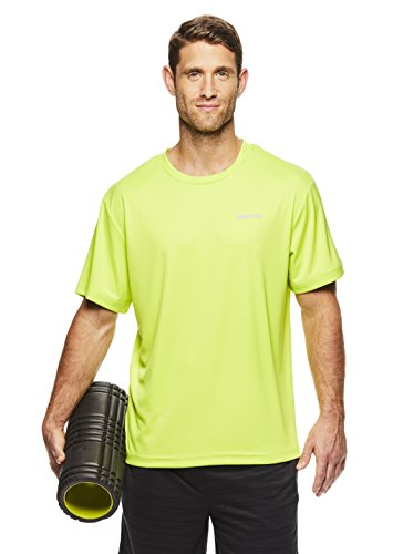 c87ca4bb Reebok Men's Supersonic Crewneck Workout T-Shirt Designed with Performance  Material
