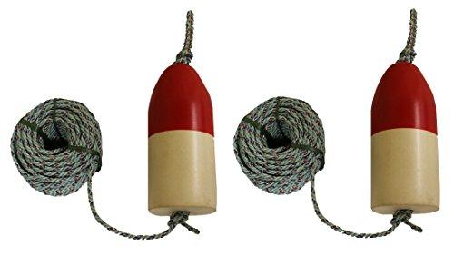 "2 Pack of KUFA Sports 5/16"" x 100' Lead Rope & 5""X11"" Red..."
