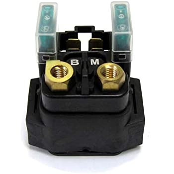 caltric starter relay solenoid fits yamaha midnight road star 1600 xv1600  1999-2003