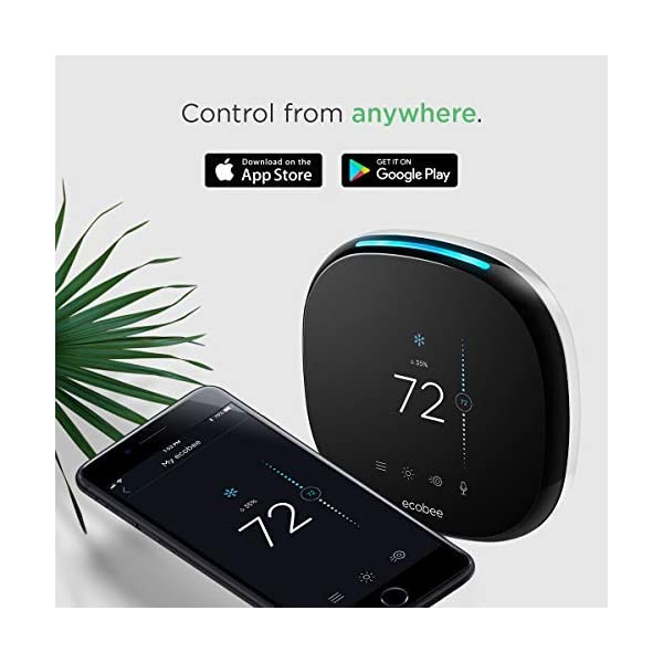 ecobee4 Smart Thermostat with Built-In Alexa, Room Sensor Included 4