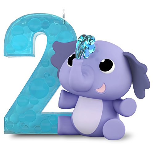 Girl 2 Ornament - Hallmark Keepsake Christmas Ornament, I Am Two! Toddler's 2nd Year Age Series