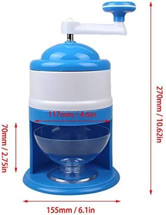 Semine Portable Ice Crusher Manuelle Ice Shaver Crusher Zerkleinern Schneekegel Maker Maschine für Home Kitchen