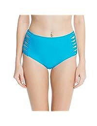 High Waisted Bikini Bottoms Strappy Brief Tankini Swimsuit