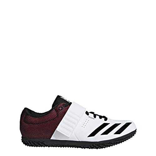 adidas Adizero Hj White/Black/Red Track Shoes 7 (Best Shoes For High Jump)
