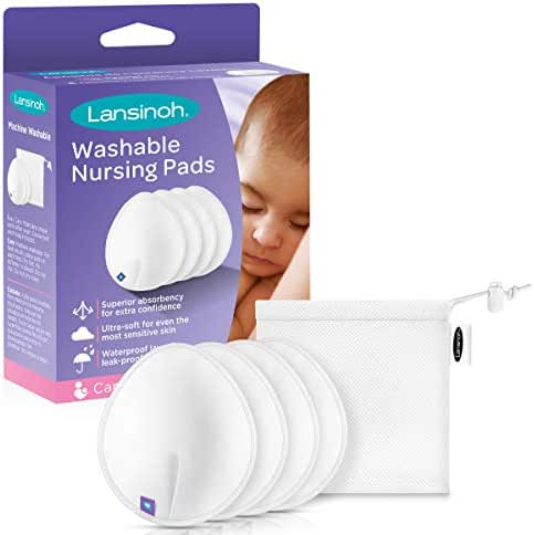 Nursing Pads: Lansinoh Washable