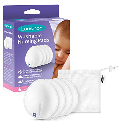 Great Features Of Lansinoh Washable Reusable Nursing Pads with Bamboo, 2 Pairs