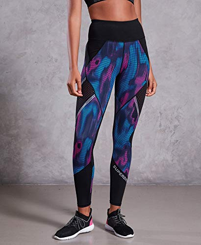 En Superdry Active Empiècements Legging À Filet twqUBx