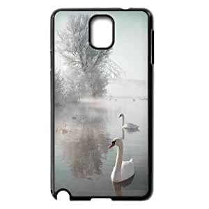 Chaap And High Quality Phone Case For Samsung Galaxy NOTE3 Case Cover -Swan Ballet Dancing Pattern-LiShuangD Store Case 17
