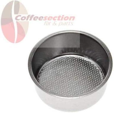 Saeco Parts 124650221 – Cesta de filtro de doble taza de