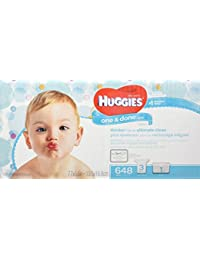 Huggies One & Done Refreshing Baby Wipes Refill, Cucumber and Green Tea, 648 Count (Packaging may vary) BOBEBE Online Baby Store From New York to Miami and Los Angeles