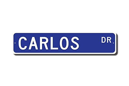 qidushop Cartel de Carlos, Regalo de Carlos, Abuelo, Regalo ...