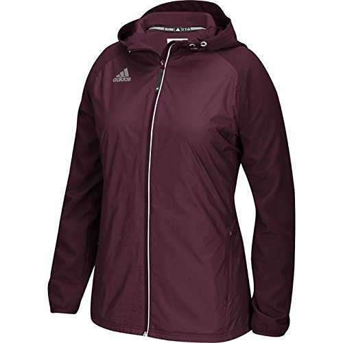 Bordeaux Adidas Varsity Modern Woven Women's Jacket qXvFBCw