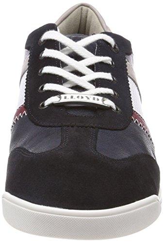 Lloyd Herre Aaron Sneaker Blau (hav / Blå / Chianti / Bianco / Grå / Flåde) fbCQ9
