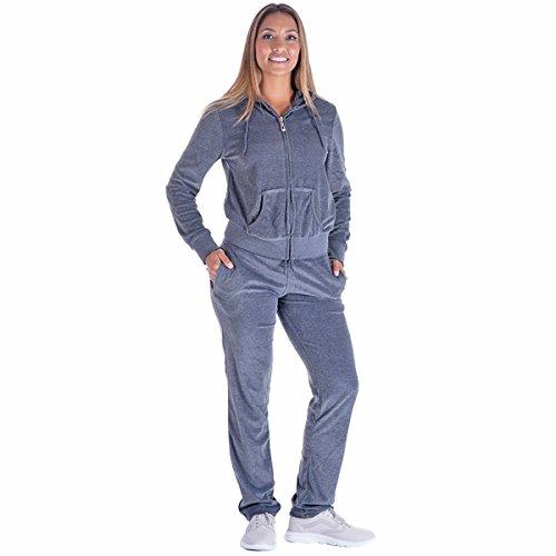 Grey Hooded Sweat - 1