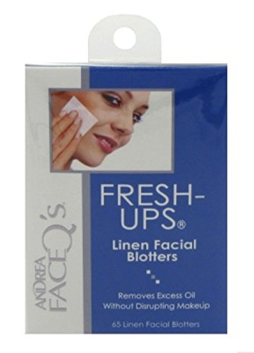 Andrea Fresh-Ups 65 Count (6 Pack) by Andrea