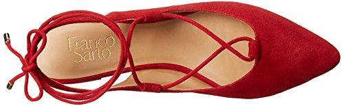 Black Women's Snap Sarto L US Flat US Red Ballet Franco SqOfxnn