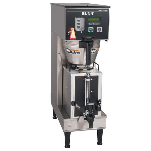 Bunn 33600.0029 Single SH DBC BrewWise Single Soft Heat Coffee Brewer for Servers (Not Included)