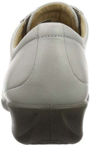 ECCO Abelone Black Soft Butter Shiny - Zapatos Mujer Gris (Grau (GRAVEL 01163))