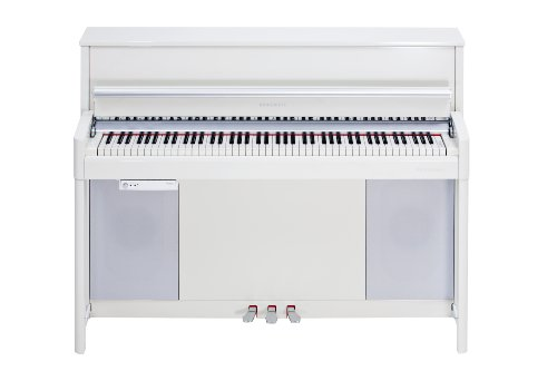 Kurzweil CUP2 88-Key Compact Upright Piano with Wood Fata...