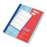 Money and Rent Receipt Books, 2-3/4 x 7 1/8, Two-Part Carbonless, 400 Sets/Book, Sold as 1 Each