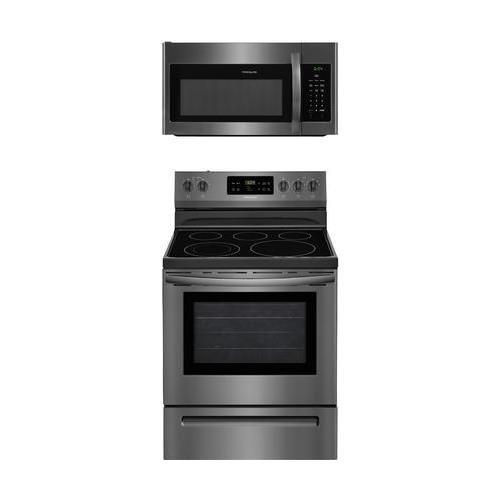 Frigidaire 2-Piece Black Stainless Steel Kitchen Package wit