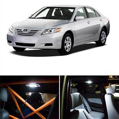 Toyota Camry Interior >> Amazon Com Switchcarparts 8 Pieces Led Kit For Toyota Camry