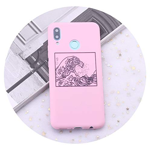 - for Huawei Honor Mate 10 20 Nova P20 P30 P Smart The Great Wave Off Kanagawa Candy Silicone Phone Case Cover Capas Coque,1,Nova 2i