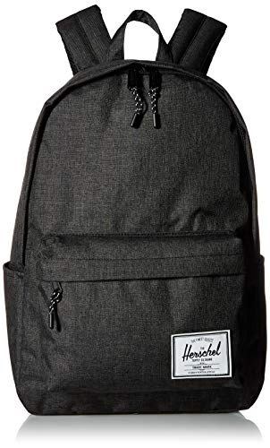 Herschel Classic X-Large Backpack, Black Crosshatch, XL 30L