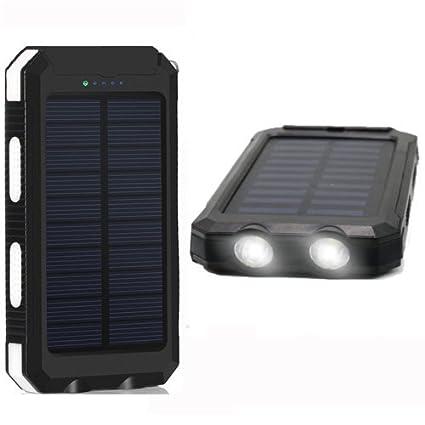 Amazon.com: Cargador portátil solar de 20000 mAh ...