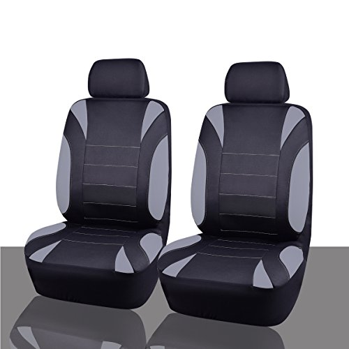 CAR PASS Neoprene 6 Pieces waterproof Two Front - Neoprene Car Seat Covers