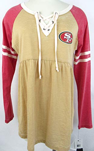 San Francisco 49ers Maternity Wear. Touch by Alyssa Milano Maternity San  Francisco 49ers Womens Size Small Long Sleeve T-Shirt d4a7ff3bb