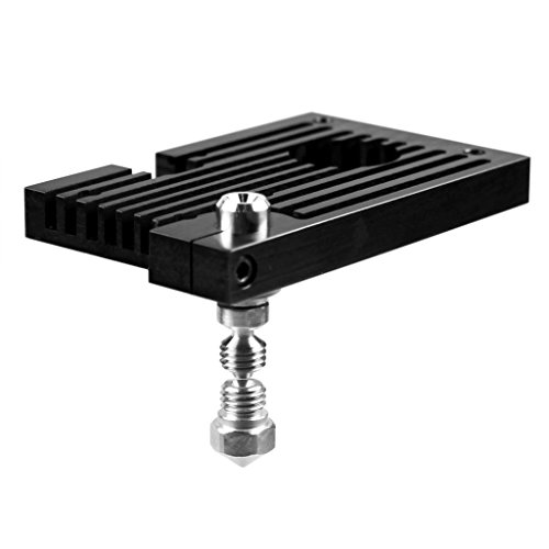 Micro Swiss All Metal Hotend with SLOTTED Cooling Block for Duplicator 6 .8mm by Micro-Swiss