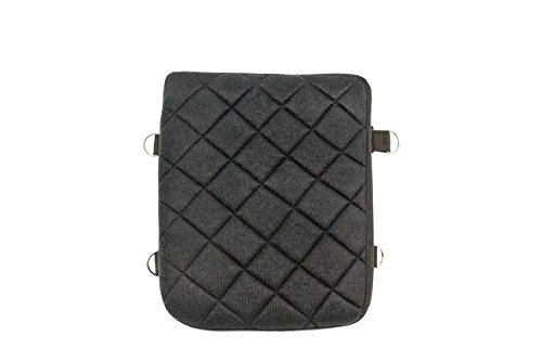Gel Pad Seat Cushion for Motorcycles with Memory Foam (Passenger) (Best Motorcycle For Pillion Passenger)
