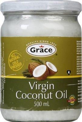Coconut Grace (GRACE ORGANIC VIRGIN COCONUT OIL 500 ML)