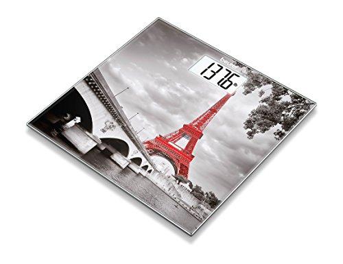 Beurer Glass Scale with Paris Design, Gs 203 Paris