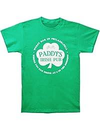 Its Always Sunny In Philadelphia Paddys Irish Pub Mens Green T-Shirt