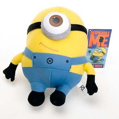 Hot Brand New 6' Despicable Me 2 Minion 18cm Plush Toy Minions Stuffed Doll