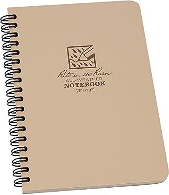 Rite in the Rain Weatherproof Wire bound Notebook