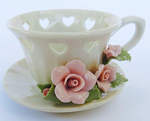 Valentine heart alternative elegant hand crafted for Alternative candle holders