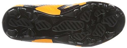 adidas X 15.3 Fg/Ag J, Botas de Fútbol Unisex Bebé Naranja / Negro / Rosa (Dorsol / Negbas / Rosimp)