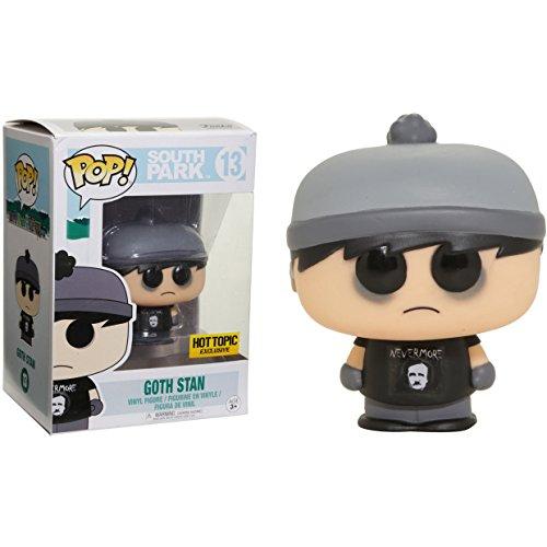 Funko Goth Stan (Hot Topic Exclusive): South Park x POP! Vinyl Figure & 1 POP! Compatible PET Plastic Graphical Protector Bundle [#013 / 13277 - -