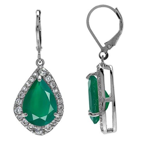 Green Topaz Earring - 6