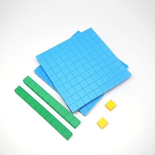 - hand2mind Base Ten Blocks Starter Set, Set of 44