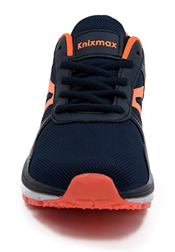 Corsa Knixmax All'aperto Navy Ginnastica Interior Sneakers Sportive Basse Casual E Running Traspirante Leggero Fitness Donna Da Scarpe Blu ICrpxwqU1C