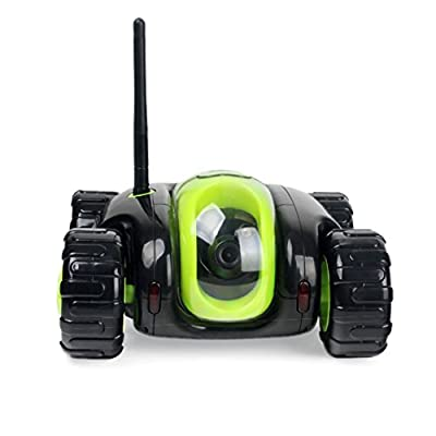 JAMOR Home Patrol Robot Mobile Remote Control Video Car Smart Security Mobile Robot Panorama Camera Auto Charging Robot Video Surveillance: Toys & Games
