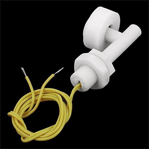 eDealMax ZPC1 de nivel de líquido del agua del Sensor del Control de ángulo Recto interruptores de flotador, 2 piezas: Amazon.com: Industrial & Scientific